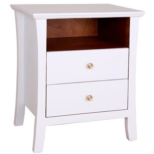 Cosette 2 Drawer End Table by Porthos Home