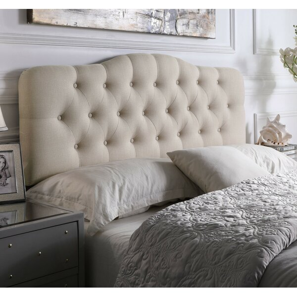 Dax Upholstered Panel Headboard by Andover Mills™