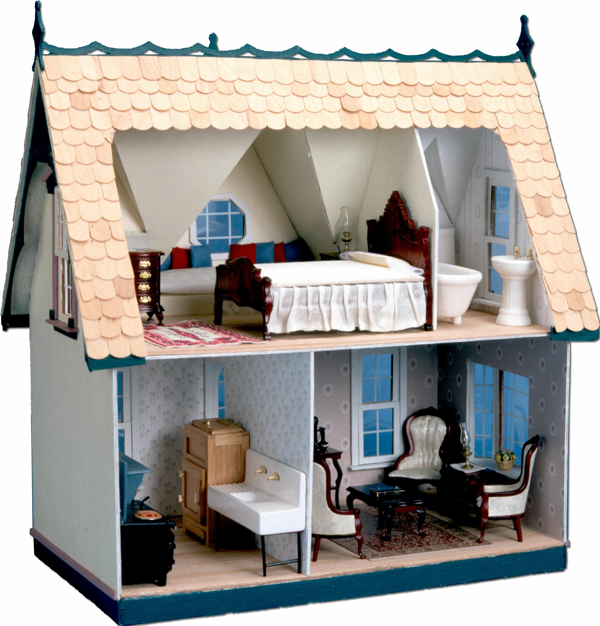 Greenleaf Dollhouses Orchid Dollhouse & Reviews