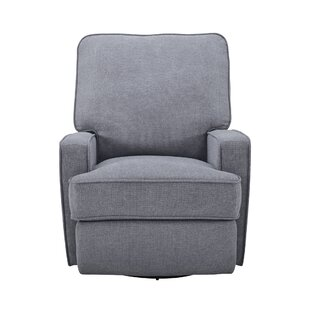 Copes Upholstered Swivel Glider by Harriet Bee