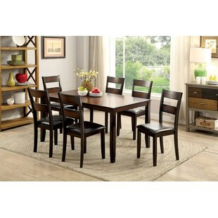 Alcott Hill Karlin 7 Piece Dining Set