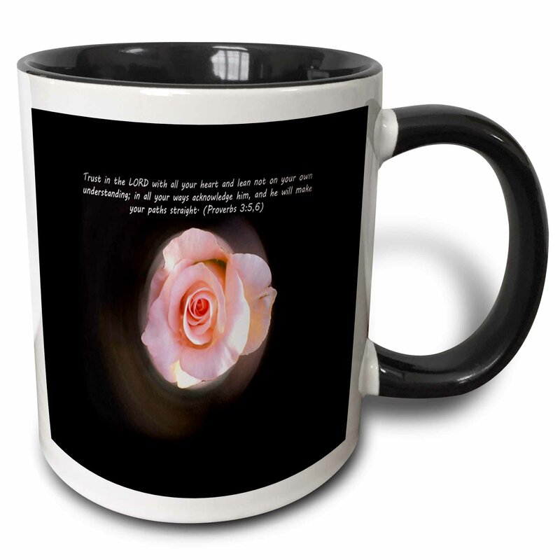 East Urban Home Trust In The Lord Proverb 3 5 6 Coffee Mug