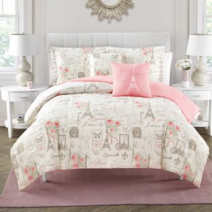 House of Hampton Nickson 5 Piece Reversible Comforter Set
