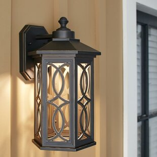 Bloomsbury Market Dewart LED Outdoor Wall Lantern