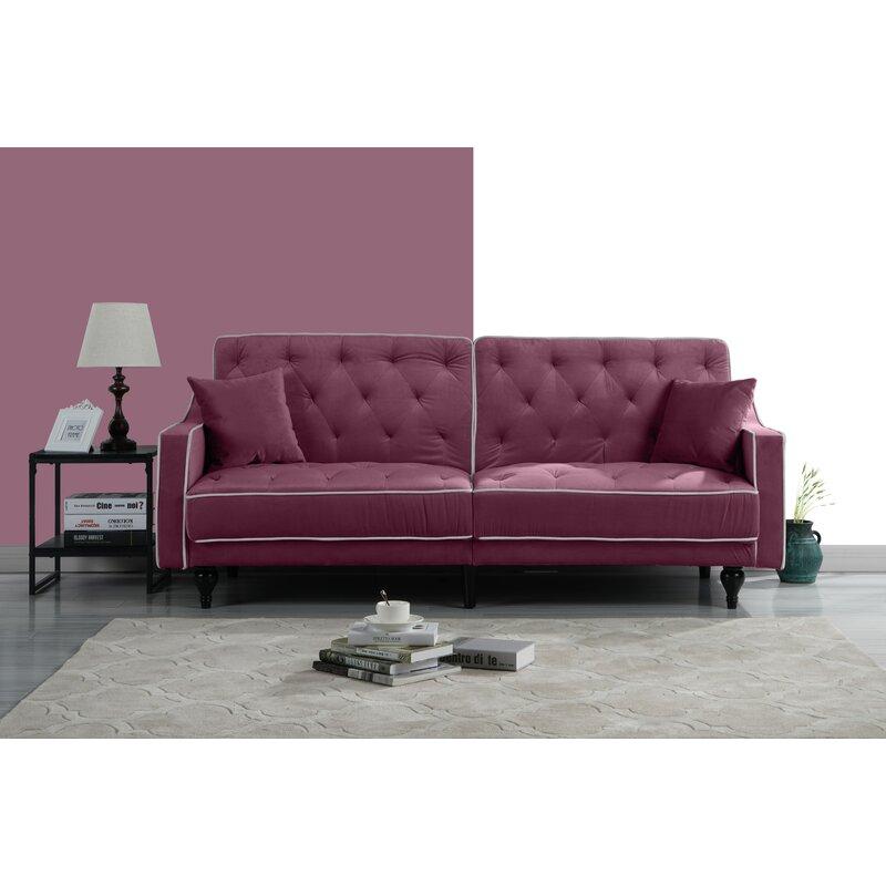 Merveilleux Hypes Mid Century Convertible Sofa