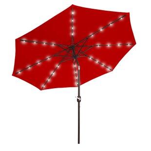 Trademark Innovations 9' Lighted Umbrella