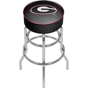 University of Georgia 31 Swivel Bar Stool Trademark Global