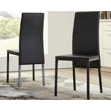 Halesowen Upholstered Metal Dining Chair (Set of 2) by Orren Ellis