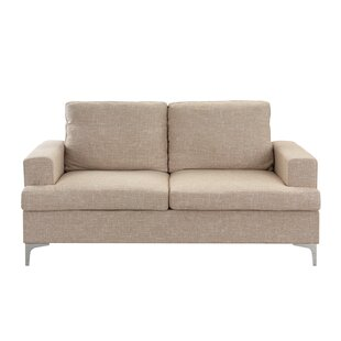 Ascencio Loveseat by Orren Ellis 2019 Sale