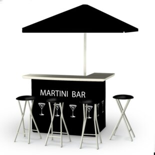 Martini 8 Piece Bar Set by Best of Times