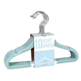 Shop For Kids Multi Purpose Velvet Non-Slip Hanger (Set of 120) BySignature Home Brands