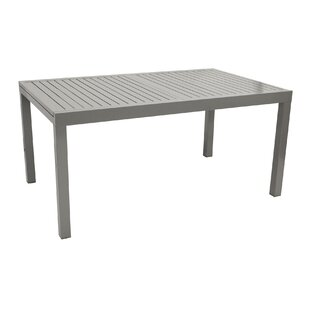 Zaltbommel Extendable Aluminium Dining Table By Sol 72 Outdoor