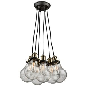 Williston Forge Rufina 5-Light Cluster Pendant