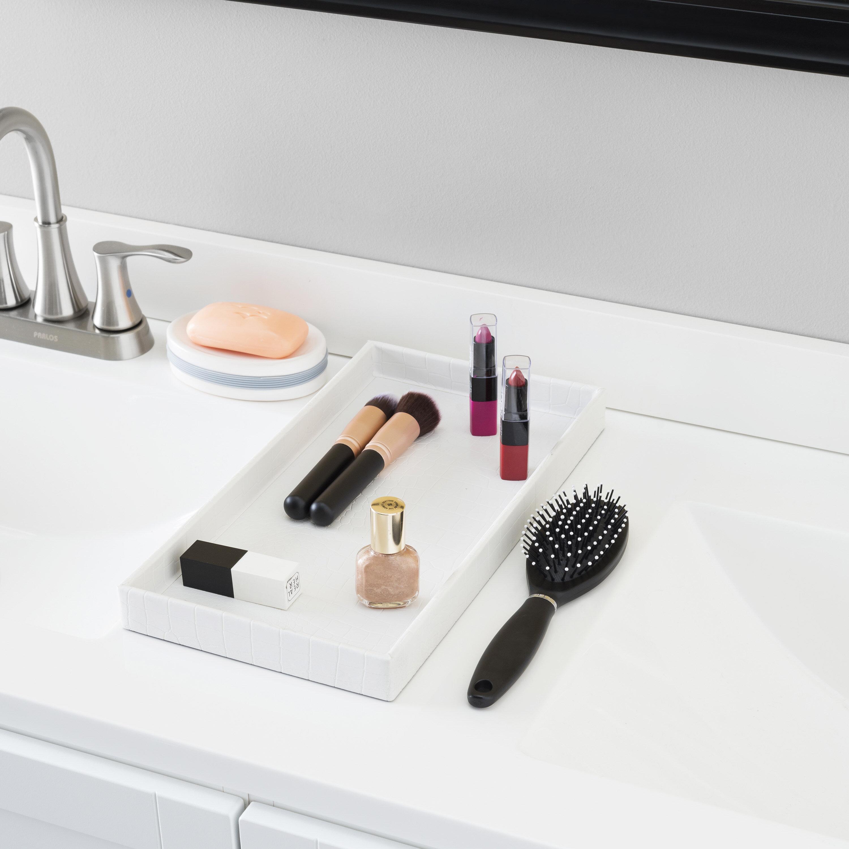 World Menagerie Moorgate Bathroom Vanity Tray Reviews Wayfair