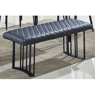 Holston Upholstered Bench by Ebern Designs