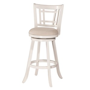 Mersin 25'' Swivel Bar Stool by World Menagerie