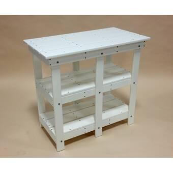 Magnificent Highland Dunes Alviso Plastic Resin Buffet Console Table Dailytribune Chair Design For Home Dailytribuneorg