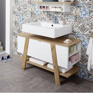 Monterey 111cm W X 67cm H Free Standing Under Sink Cabinet By Brayden Studio