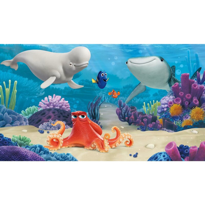 Finding Dory Wall Mural Disney Prepasted Wallpaper 10.5/' x 6/' Room Decorations