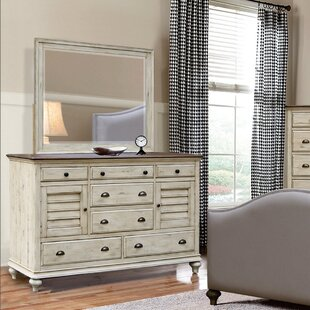Find for Wilfred 7 Drawer Combo Dresser with Mirror by Bayou Breeze