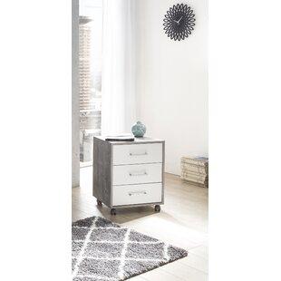 Westley 3 Drawer Vertical Filing Cabinet By Ebern Designs