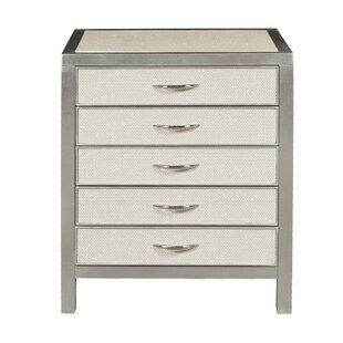 Perine 5 Drawer Accent Chest by Rosdorf Park