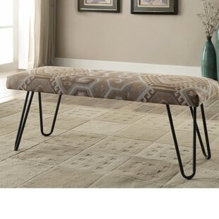 Union Rustic Passmore Rustically Enthralling Upholstered Bench