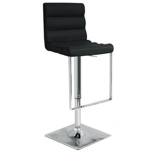Bashaw Swivel Adjustable Bar Stool By Metro Lane