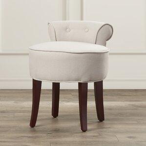 chloe vanity stool