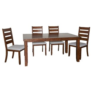 Geduhn 5 Piece Dining Set by Loon Peak 2019 Sale