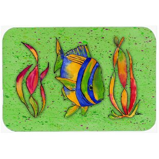Tropical Fish Kitchen/Bath Mat