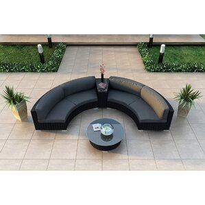 Curved Seating Outdoor Furniture Wayfair