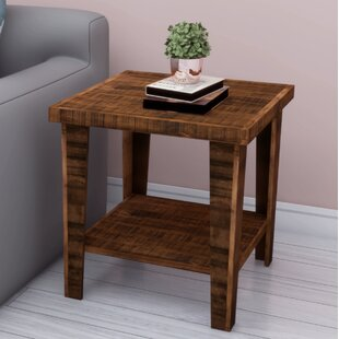 Shop For Woodworth End Table by Millwood Pines