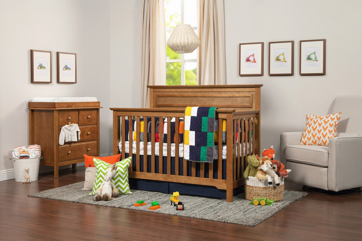 Autumn 4-in-1 Convertible 3 Piece Crib Set