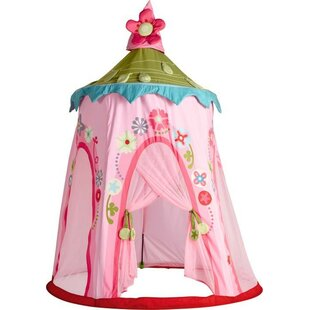 Floral Wreath Play Tent with Carrying Bag