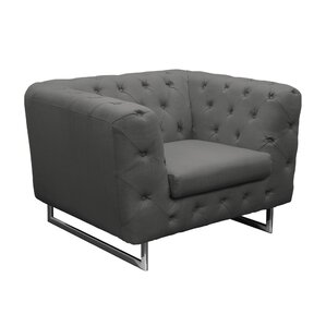 Catalina Tufted Chesterfield Chair by Diamond Sofa