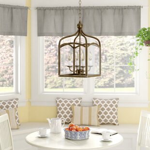 Frampton 4-Light Lantern Pendant by Charlton Home