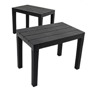 Orson Plastic Bench (Set Of 2) By Sol 72 Outdoor