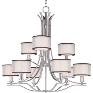 Darby Home Co Houseknecht 9-Light Shaded Chandelier
