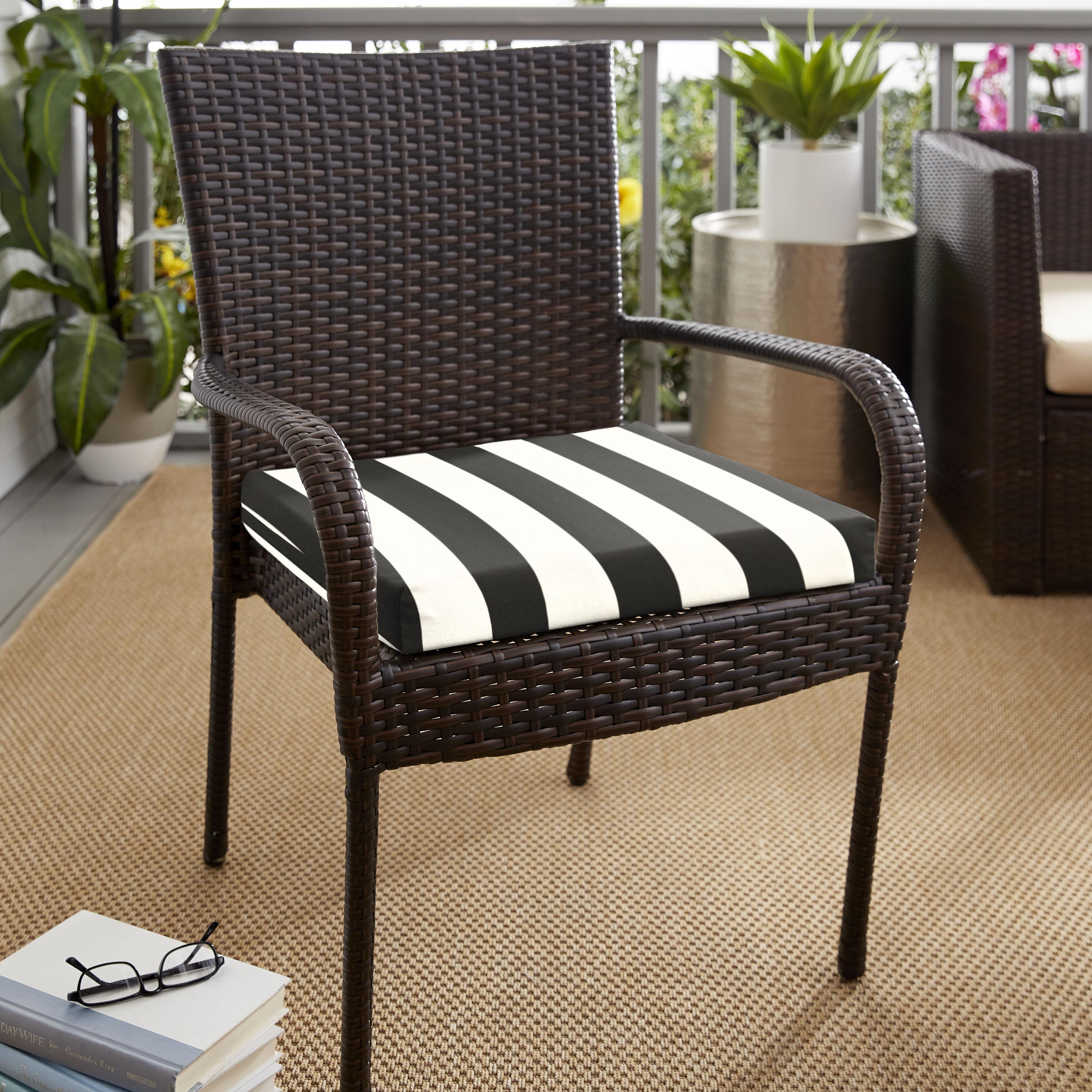 Brayden Studio Kallisto Classic Indoor Outdoor Sunbrella Dining Chair Cushion Wayfair
