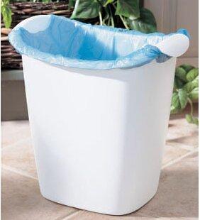 Rubbermaid Plastic 3.5 Gallon Waste Basket (Set of 8)