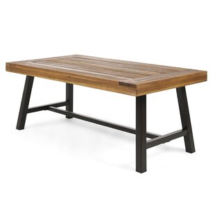 Aditya Outdoor Wooden Coffee Table