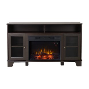 Wilson Media Electric Fireplace TV Stand Homestar