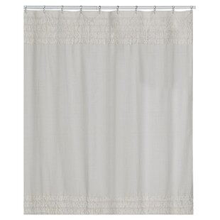 Comparison Prudhomme Polyester/Cotton Shower Curtain By One Allium Way