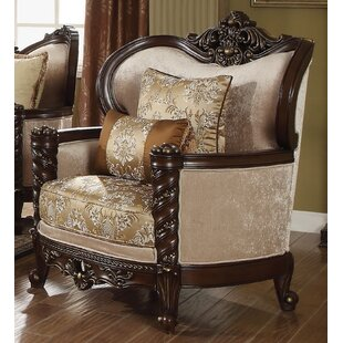 Astoria Grand Frederick Wingback Chair