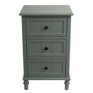 Wedgewood 3 Drawer Chest by Charlton Home