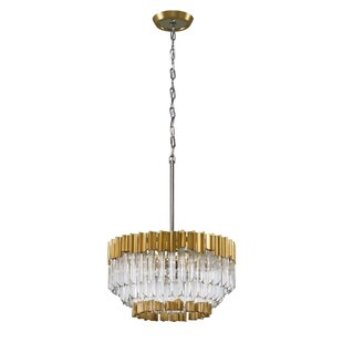 Corbett Lighting Charisma 5-Light Crystal Chandelier