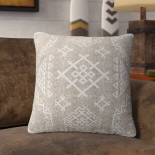 Cyrill Cotton Throw Pillow by Loon Peak Discount
