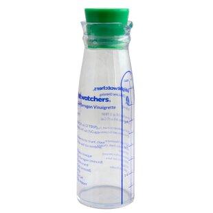 Nampa 8 oz. Salad Dressing Bottle with Measuring Marks