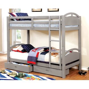 Clymer Twin over Twin Bunk Bed